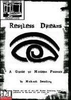 Restless Dreams: A Guide to Modern Psionics