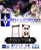 Manifestation CCS: Future Age (Series I) Style 02 - Color Scheme 3 [Sci-Fi Trading Card Game Frame]