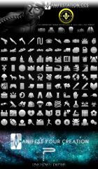 Modern Era Game Icon Set - Modern Age (Icon Series I)