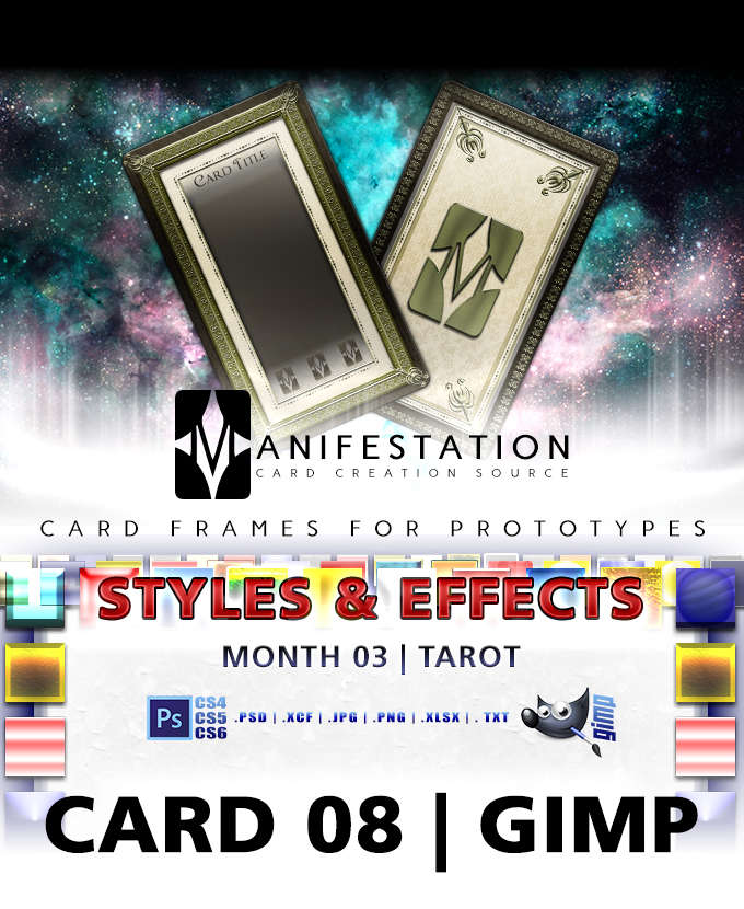 Card 08 styles effects tarot gimp card game design template card 08 styles effects tarot gimp card game design template for play testing yelopaper Choice Image