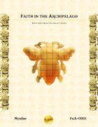 Nysilor-Faiths of the Archipelago