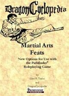 DragonCyclopedia: Martial Arts Feats