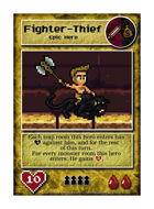 Fighter-Thief - Custom Card