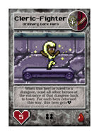 Cleric Fighter - Custom Card