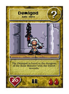 Demigod - Custom Card