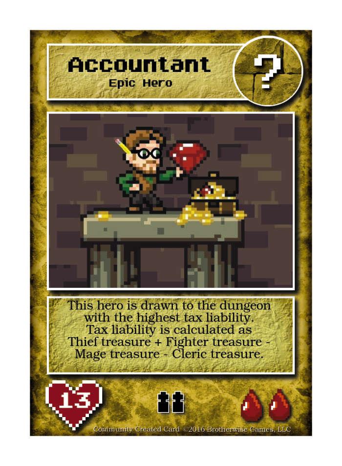 Accountant - Custom Card