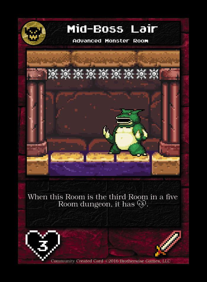 Mid-boss Lair - Custom Card
