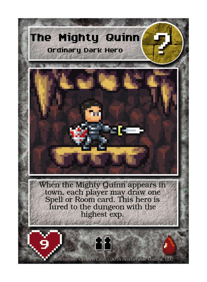 The Mighty Quinn - Custom Card