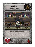 Bast, The Inkeeper's Assistant - Custom Card