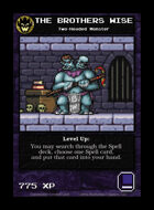 The Brothers Wise - Custom Card