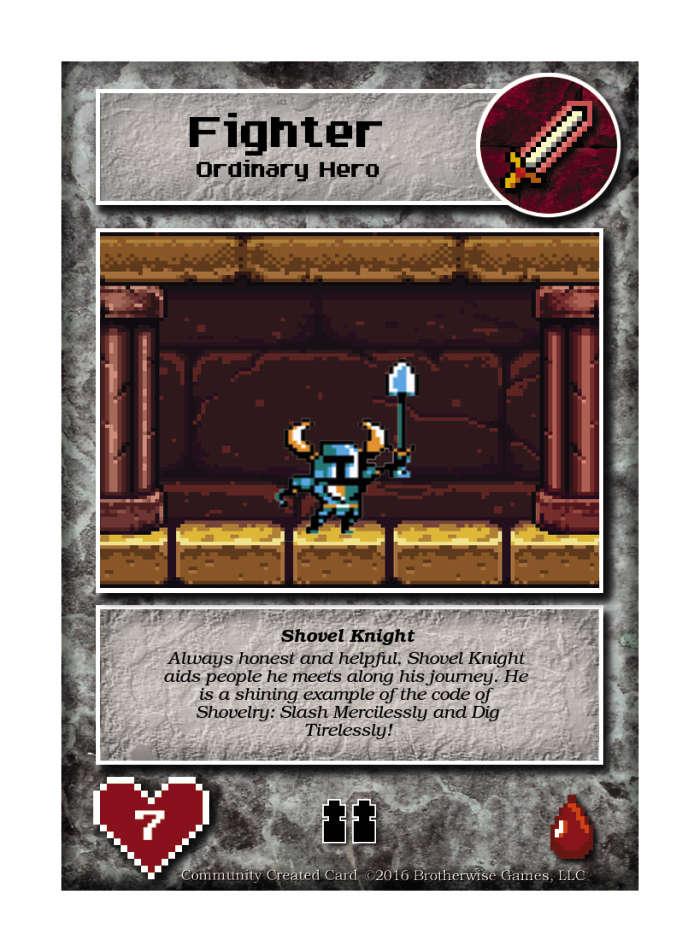 Shovel Knight - Custom Card