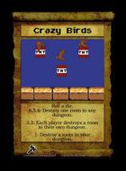 Crazy Birds - Custom Card