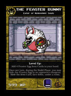 The Feaster Bunny - Custom Card