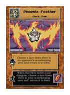 Phoenix Feather - Custom Card