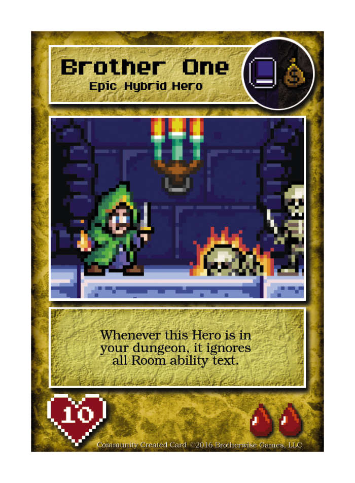 Brother One - Custom Card