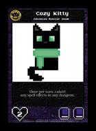 Cozy Kitty - Custom Card