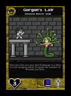 Gorgon's Lair  - Custom Card