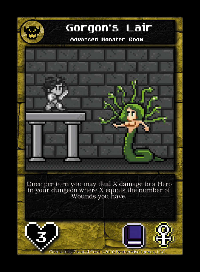 Gorgon's Lair  - Custom Card