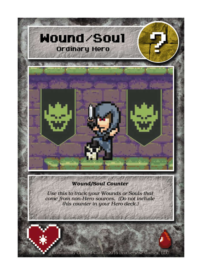 Wound/soul Counter - Custom Card