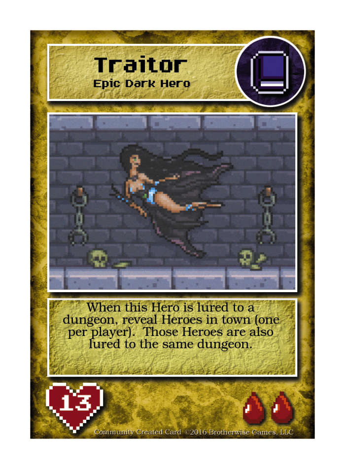 Seducia Traitor - Custom Card - Brotherwise Games | Boss