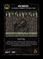Acros - Custom Card