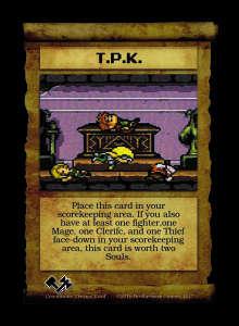 T.p.k. - Custom Card