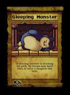 Sleeping Monster - Custom Card