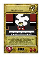 Adolf Hitler, Devil Of Germany - Custom Card