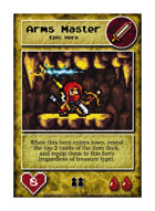 Arms Master - Custom Card