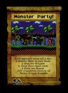 Monster Party! - Custom Card