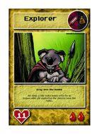 King Koa The Koala - Custom Card