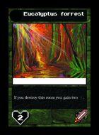 Eucalyptus Forrest - Custom Card