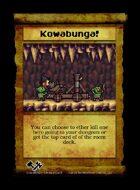 Kowabunga! - Custom Card