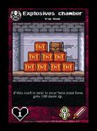 Explosives Chamber - Custom Card