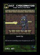 Sgt Cybernator - Custom Card