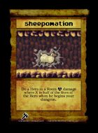 Sheepomation - Custom Card