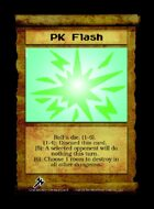 Pk Flash - Custom Card