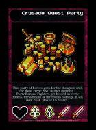 Crusade Quest Party - Custom Card