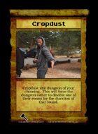 Cropdust - Custom Card