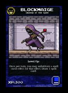 Blockmaige - Custom Card