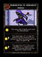 Kinjhalk,price Of Underworld - Custom Card
