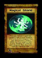 Magical Shield - Custom Card