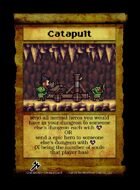 Catapult  - Custom Card