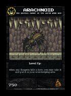 Arachnoid - Custom Card
