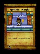 Genies Magic - Custom Card