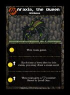 Araxia, The Queen - Custom Card