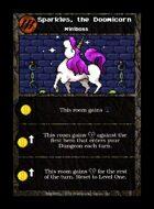 Sparkles, The Doomicorn - Custom Card