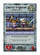 Sir Gilbritrad And His Daughter - Custom Card