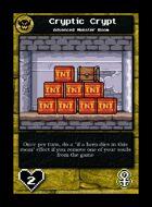 Cryptic Crypt - Custom Card