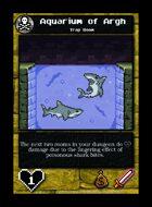 Aquarium Of Argh - Custom Card